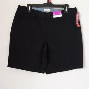 Merona black shorts